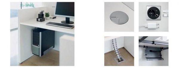 Empfangstresen SED mit einfacher Elektrifizierung