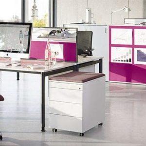 float-fx Standcontainer, Rollcontainer für den Schreibtisch