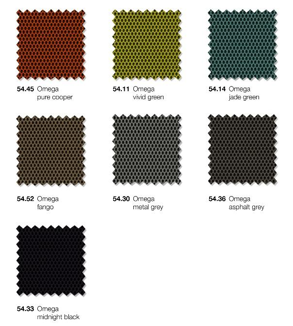 Netzrücken, Farben des Selvio Drehstuhl