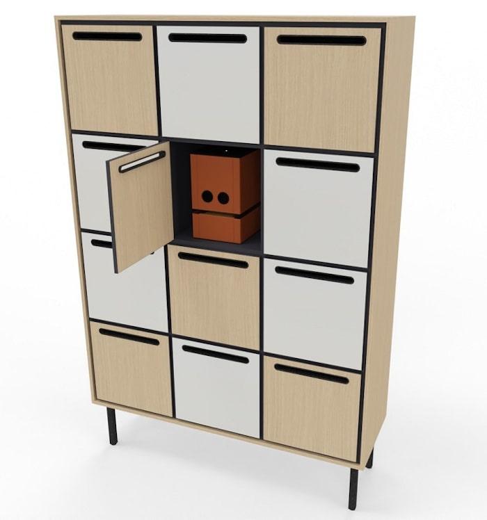 Schliessfachschrank locker für die plug-in-box