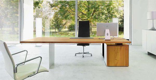 Schreibtisch hochwertig, Unterbau, Container
