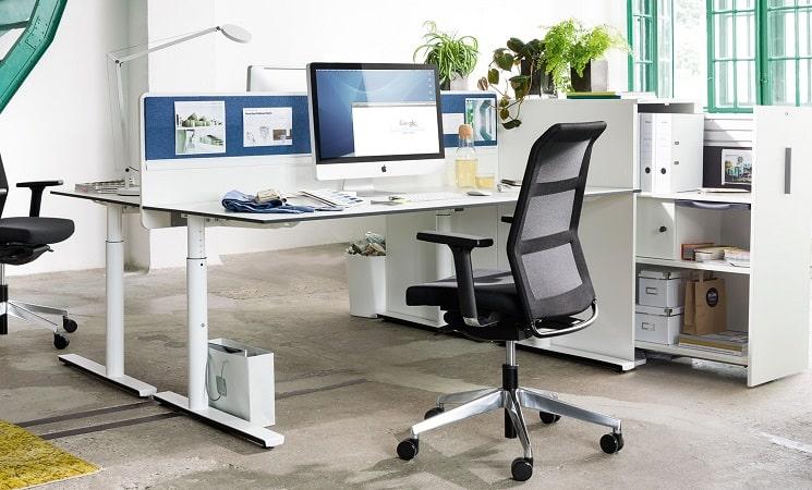 Wohlbefinden durch feel good Büromöbel