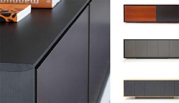 Massivholz Sideboard X2